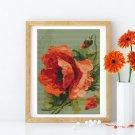 Poppies Cross Stitch Chart by Catherine Klein