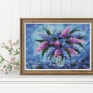 Purple Fiesta Cross Stitch Chart