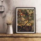 Flowers Cross Stitch Kit by Frederic Bazille