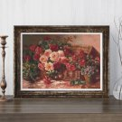 Floral Still Life Cross Stitch Kit by Abbott Fuller