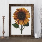 Sunflower Cross Stitch Kit by Daniel Froesch