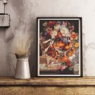 Fishbowl Fantasy Cross Stitch Kit by Edward Goodes