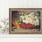 A Summer Still Life Cross Stitch Kit by August Laux