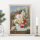 Roses Cross Stitch Kit by William Jabez Muckley
