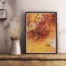 Flowers and Insects Cross Stitch Kit by Paul de Longpre