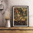 Flowers Cross Stitch Chart by Frederic Bazille