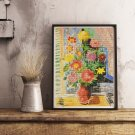 Grand Bouquet Cross Stitch Chart by Moise Kisling
