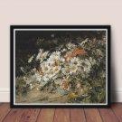 Wild Flowers Cross Stitch Chart by William Jabez Muckley