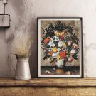 The Elder Flowers in a Chinese Vase Cross Stitch Kit by Ambrosius Bosschaert