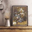 Flowers Cross Stitch Chart by Pierre-Auguste Renoir (RENOI01)