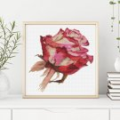 Red Rose Cross Stitch Chart