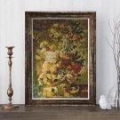 Flowers Cross Stitch Chart by Joseph Nigg