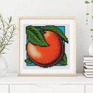 Garden Series: Sweet Orange Cross Stitch Kit