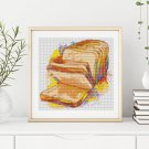 Kitchen Series: Fresh Bread Cross Stitch Kit