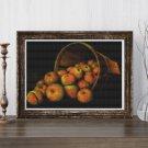 Basket of Apples Cross Stitch Kit by Levi Wells Prentice (MINI)