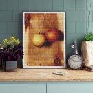 Hanging Apples Cross Stitch Kit by Descott Evans