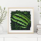 Garden Series: Watermelon Cross Stitch Chart