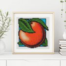 Garden Series: Sweet Orange Cross Stitch Chart