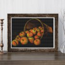 Basket of Apples Cross Stitch Chart by Levi Wells Prentice (MINI)