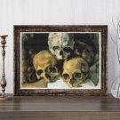 Pyramid of Skulls Cross Stitch Chart by Paul Cezanne (MINI)