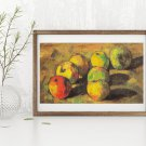 Still Life with Seven Apples Cross Stitch Chart by Paul Cezanne