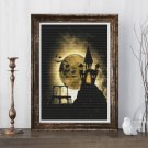 Halloween Night Cross Stitch Chart