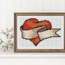 Valentine Series: My Heart Cross Stitch Chart