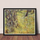 Baumstämme Cross Stitch Chart by Vincent Van Gogh