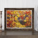 The Pool Cross Stitch Chart by Tom Thomson