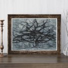 The Gray Tree Cross Stitch Chart by Piet Mondrian