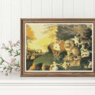 Peaceable Kingdom Cross Stitch Kit by Edward Hicks
