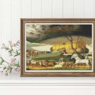 Noah's Ark Cross Stitch Kit by Edward Hicks