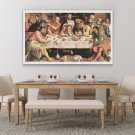 The Last Supper Cross Stitch Chart by Jacopo Bassano