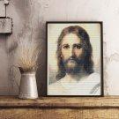 Jesus Cross Stitch Chart by Heinrich Hofmann