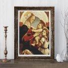 Madonna Cross Stitch Chart by Sandro Botticelli