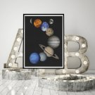 Solar System Cross Stitch Kit