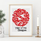 Chinese Zodiac: Year of the Dragon Cross Stitch Kit