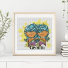 Gemini Cross Stitch Chart