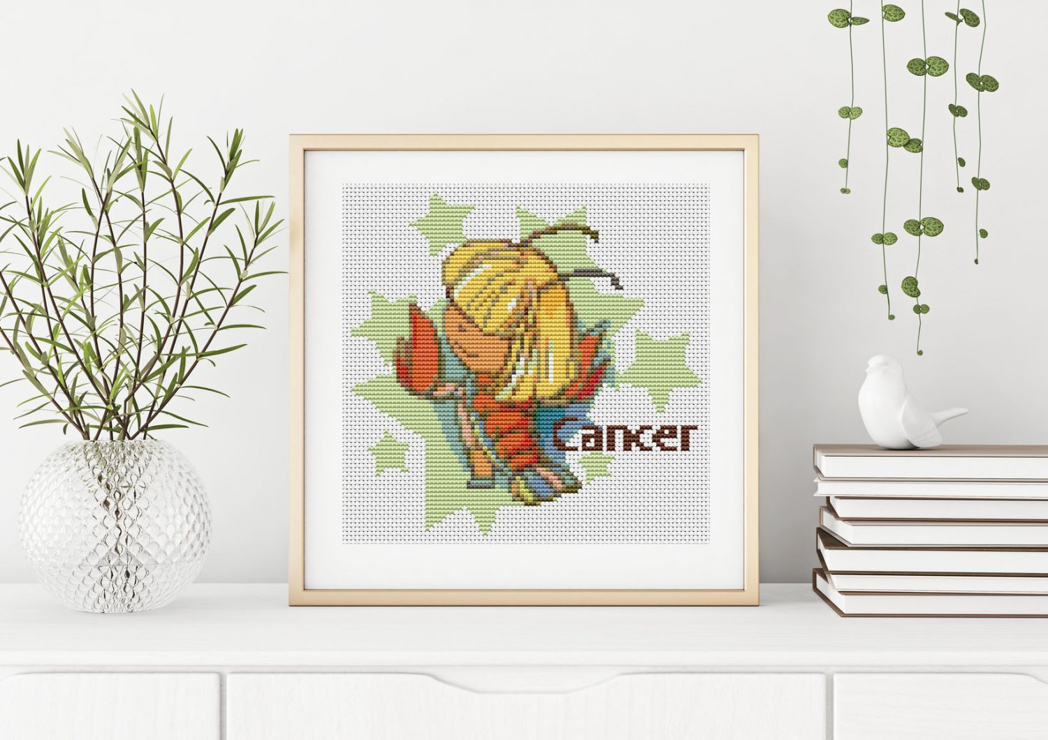 Cancer Cross Stitch Chart