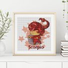 Scorpio Cross Stitch Chart