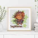 Sagittarius Cross Stitch Chart