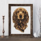 Portrait of a Dog Cross Stitch Kit