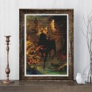 In the Forest Cross Stitch Kit by Albert Bierstadt