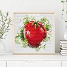 Kitchen Series: Succulent Tomato Cross Stitch Kit