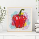 Kitchen Series: So Peppery Cross Stitch Chart