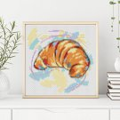 Kitchen Series: Croissant Cross Stitch Chart