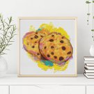 Kitchen Series: Chocolate Chip Cookies Cross Stitch Chart