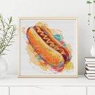 Kitchen Series: Relish the Hot Dog Cross Stitch Kit