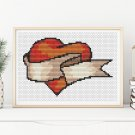 Valentine Series: My Heart Cross Stitch Kit