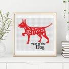 Chinese Zodiac: Year of the Dog Cross Stitch Kit